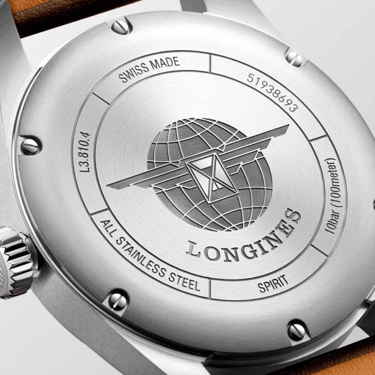 LONGINES SPORT SPIRIT 40mm L3.810.4.53.0 Noir