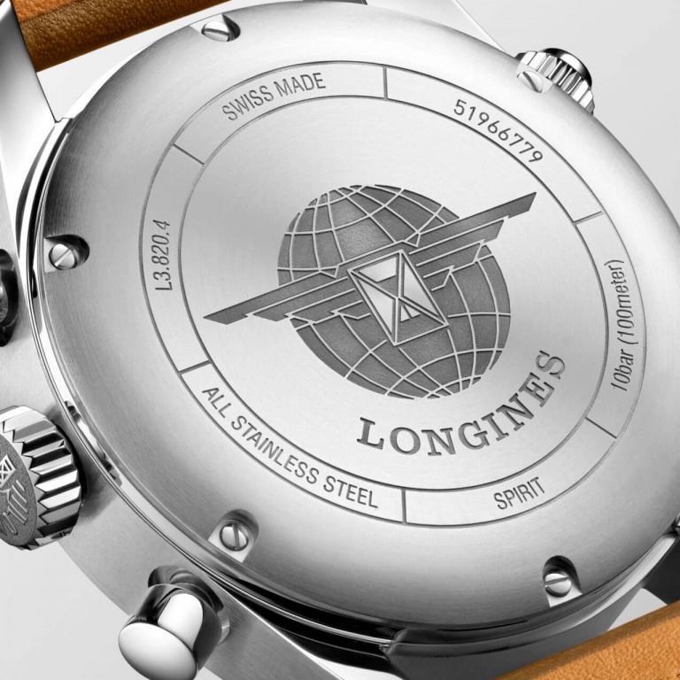 LONGINES SPORT SPIRIT CHRONOGRAPH 42mm L3.820.4.73.2 Blanc