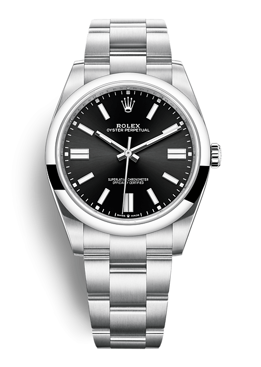 ROLEX OYSTER PERPETUAL OYSTER PERPETUAL 41 41mm 124300 Noir