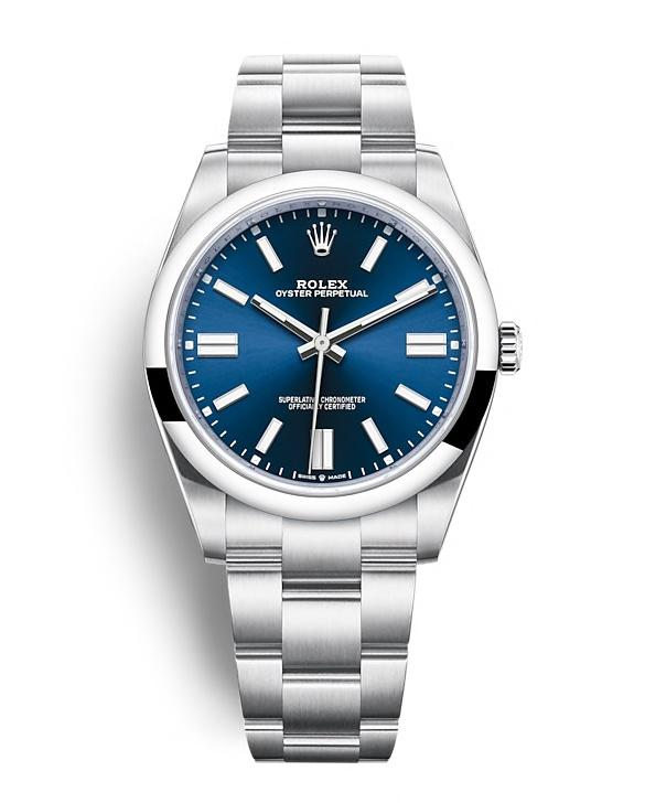 ROLEX OYSTER PERPETUAL OYSTER PERPETUAL 41 41mm 124300 Blue