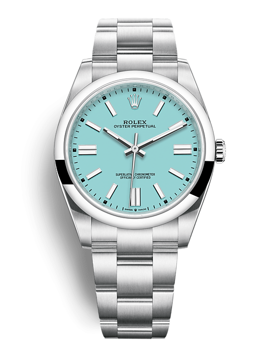 ROLEX OYSTER PERPETUAL OYSTER PERPETUAL 41 41mm 124300 Bleu