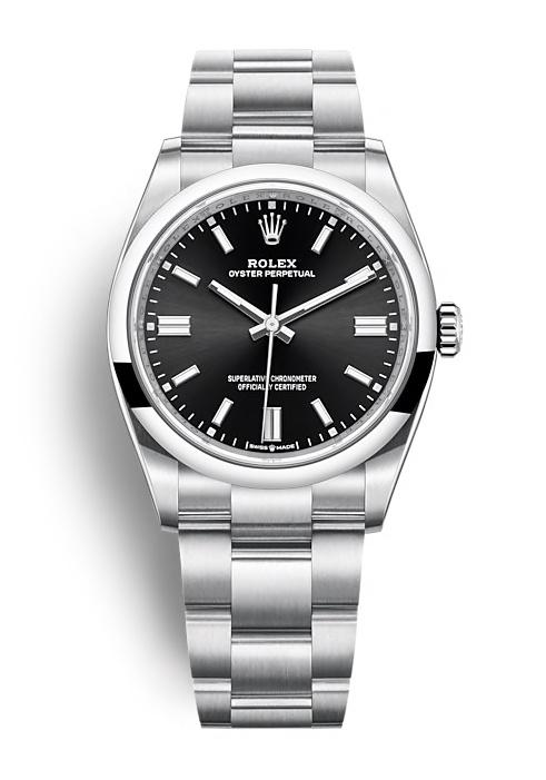 ROLEX OYSTER PERPETUAL OYSTER PERPETUAL 36 36mm 126000 Noir