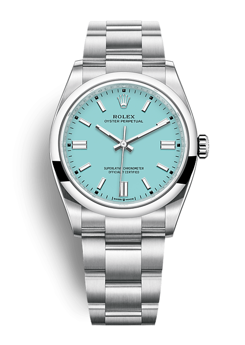 ROLEX OYSTER PERPETUAL OYSTER PERPETUAL 36 36mm 126000 Blue