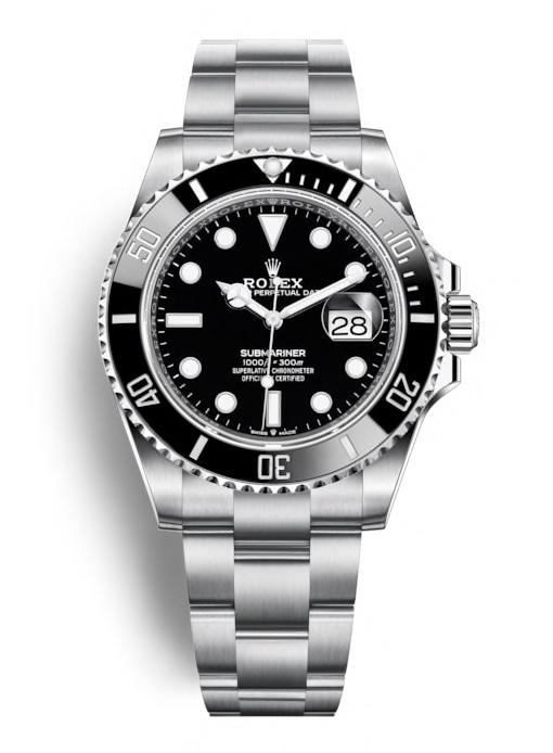 ROLEX OYSTER PERPETUAL SUBMARINER 41mm 124060 Noir