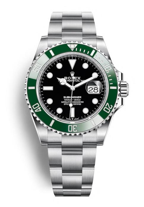 ROLEX OYSTER PERPETUAL SUBMARINER DATE 41mm 126610LV Noir