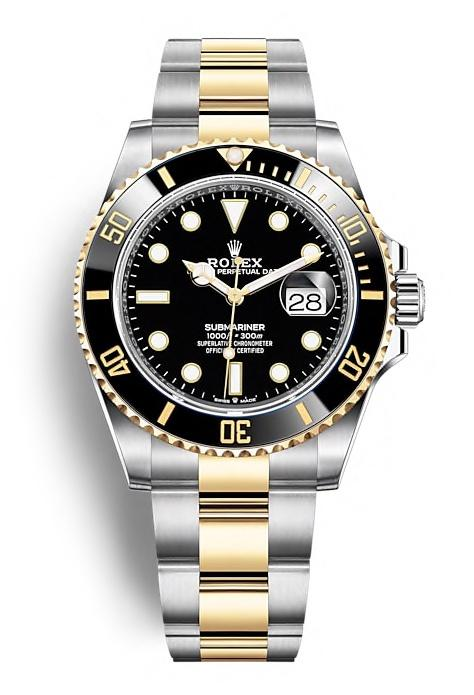 ROLEX OYSTER PERPETUAL SUBMARINER DATE 41mm 126613LN Black
