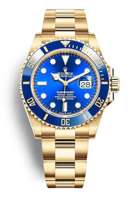 ROLEX OYSTER PERPETUAL SUBMARINER DATE 41mm 126618LB Blue