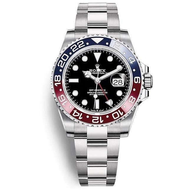 ROLEX OYSTER PERPETUAL GMT-MASTER II 40mm 126710BLRO Black