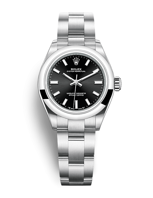 ROLEX OYSTER PERPETUAL OYSTER PERPETUAL 28 28mm 276200 Noir