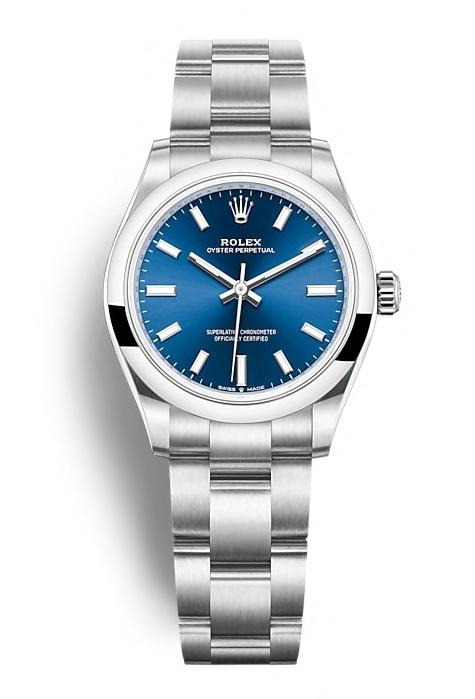 ROLEX OYSTER PERPETUAL OYSTER PERPETUAL 31 31mm 277200 Bleu