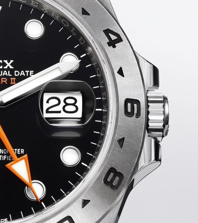 ROLEX OYSTER PERPETUAL EXPLORER II 42mm 226570 Black