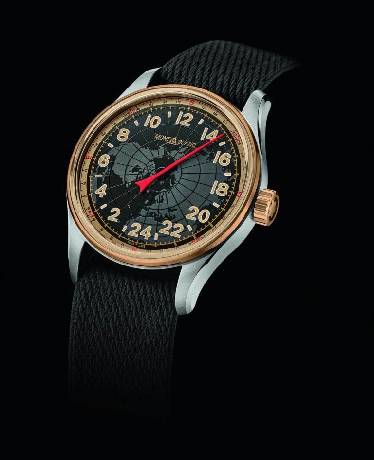 MONTBLANC 1858 AUTOMATIC 24H 42mm 126007 Noir