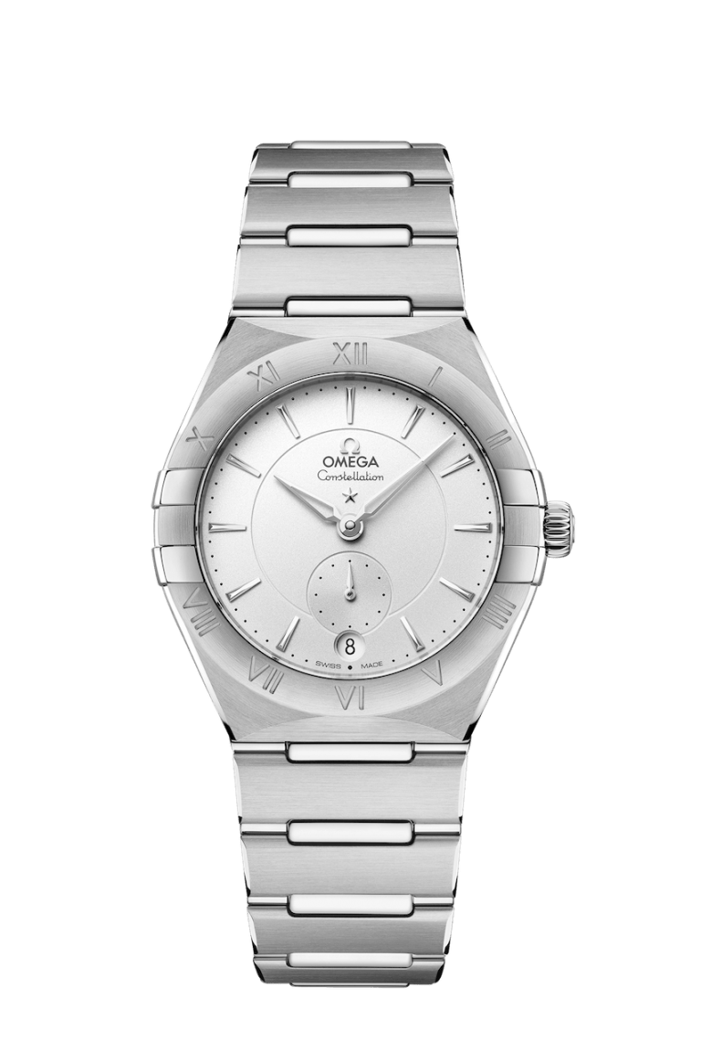 OMEGA CONSTELLATION SMALL SECONDS 34MM 34mm 131.10.34.20.02.001 Silver