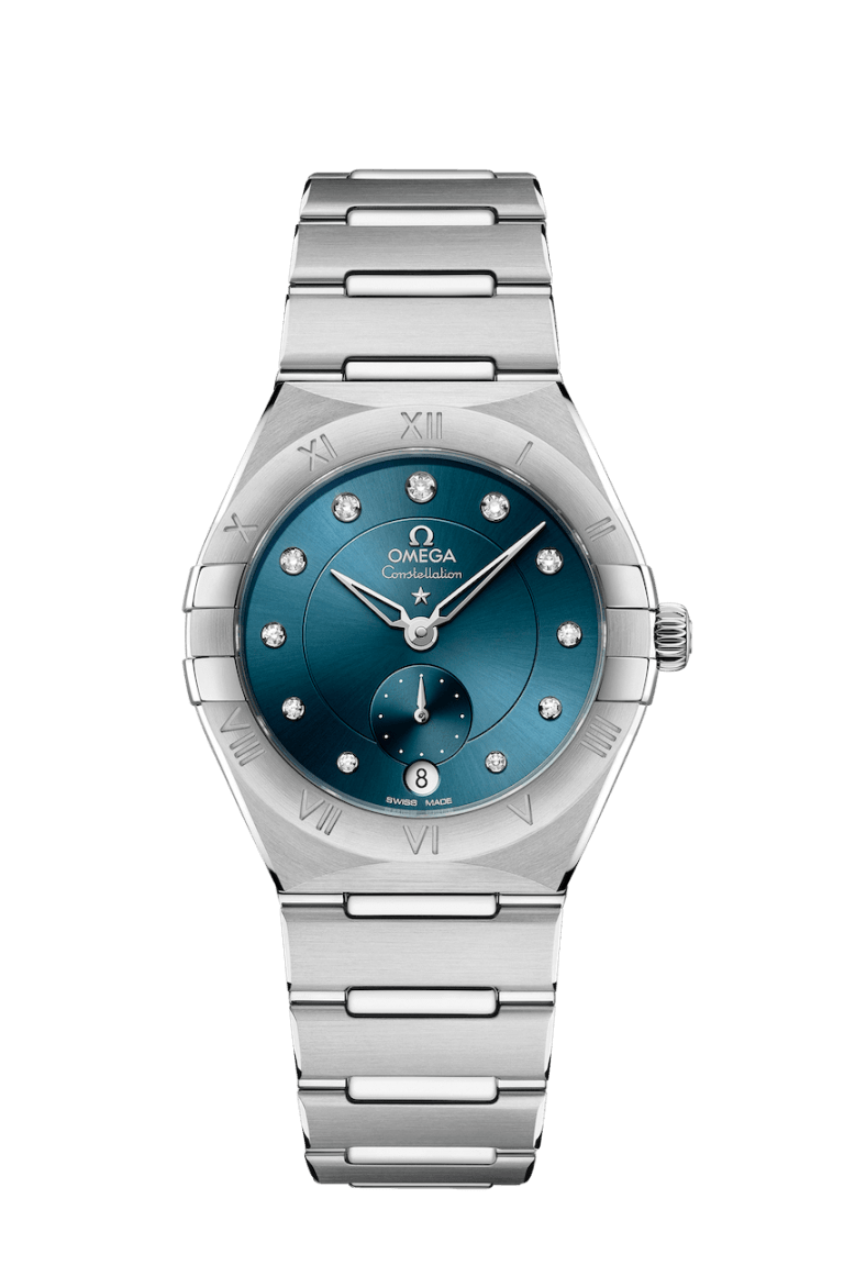 OMEGA CONSTELLATION SMALL SECONDS 34MM 34mm 131.10.34.20.53.001 Blue