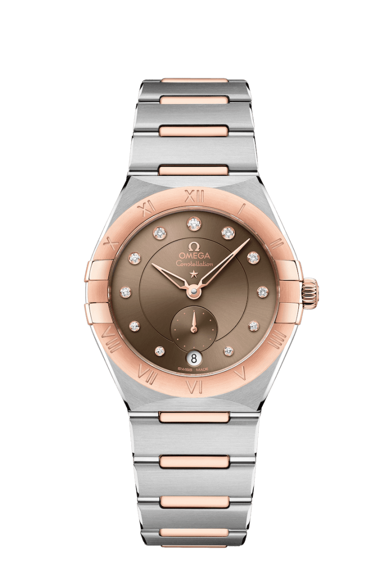 OMEGA CONSTELLATION SMALL SECONDS 34MM 34mm 131.20.34.20.63.001 Brown