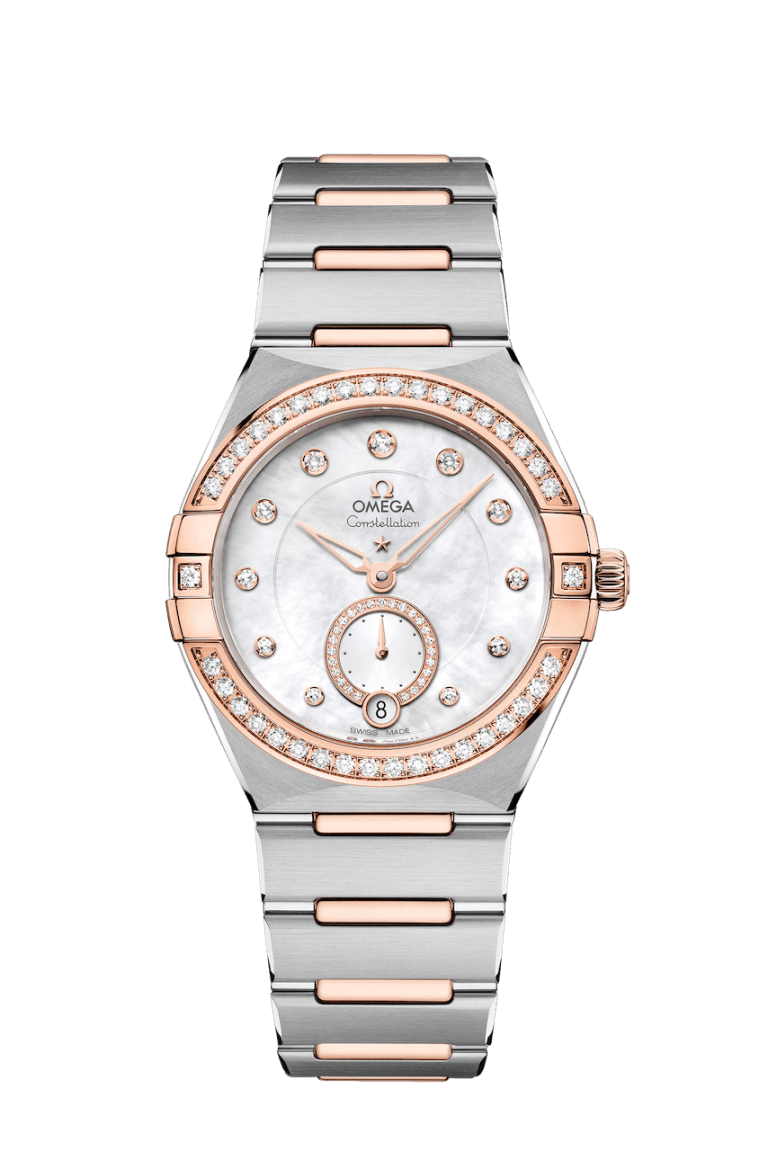 OMEGA CONSTELLATION SMALL SECONDS 34MM 34mm 131.25.34.20.55.001 Blanc