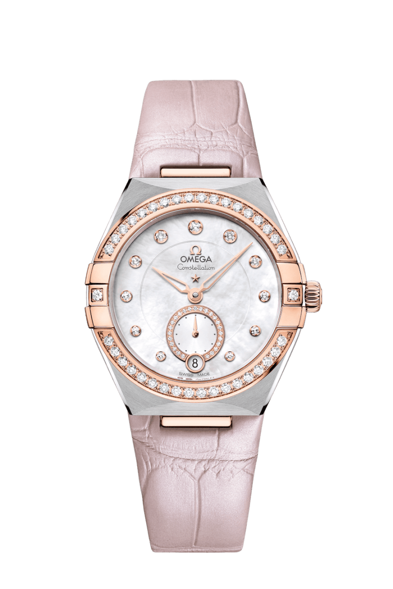 OMEGA CONSTELLATION SMALL SECONDS 34MM 34mm 131.28.34.20.55.001 Other