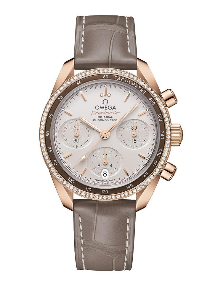 OMEGA SPEEDMASTER CO-AXIAL 38mm 38mm 324.68.38.50.02.003 Brown