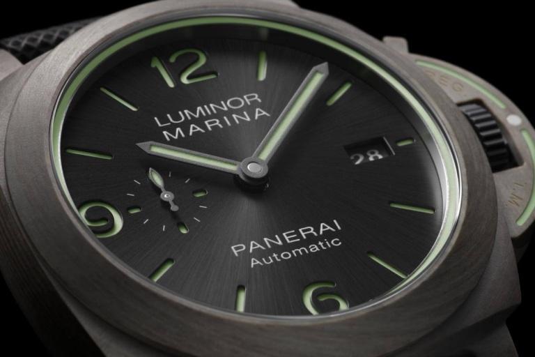 PANERAI LUMINOR MARINA 3 DAYS AUTOMATIC TITANIO 44mm PAM01119 Grey