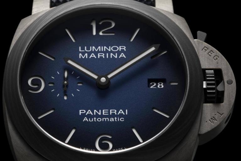 PANERAI LUMINOR MARINA 3 DAYS AUTOMATIC TITANIO 44mm PAM01663 Blue