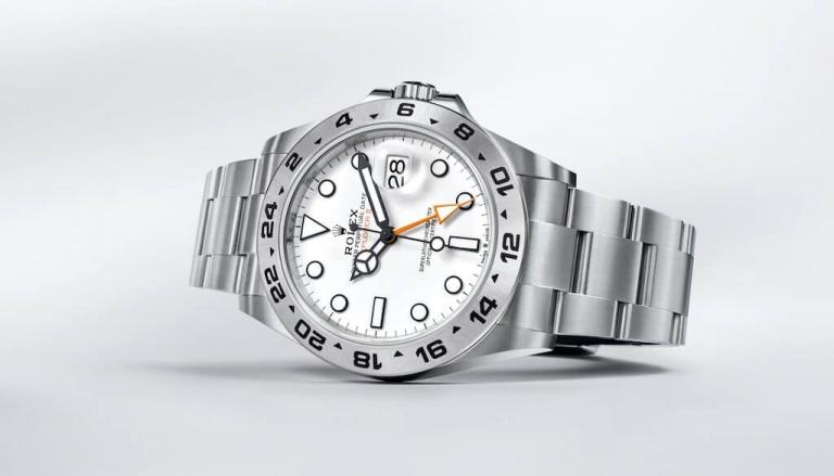 ROLEX OYSTER PERPETUAL EXPLORER II 42mm 226570 White