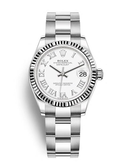 ROLEX OYSTER PERPETUAL DATEJUST 31 31mm 278274 White