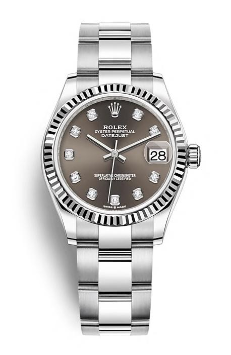 ROLEX OYSTER PERPETUAL DATEJUST 31 31mm 278274 Gris
