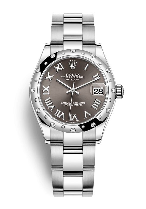 ROLEX OYSTER PERPETUAL DATEJUST 31 31mm 278344RBR Grey
