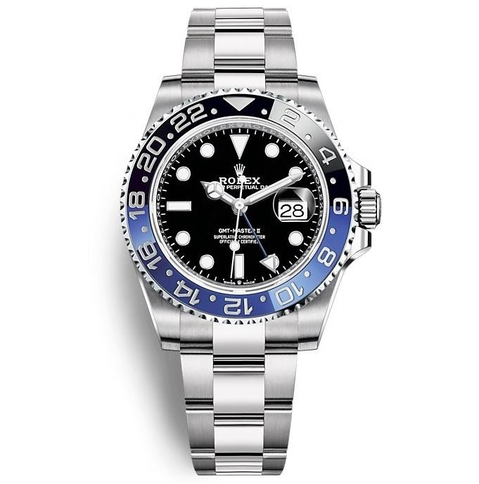 ROLEX OYSTER PERPETUAL GMT-MASTER II 40mm 126710BLNR Black